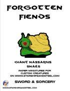 Forgotten Fiends: Giant Nassarius Snails