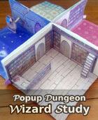 Popup Dungeon: Wizard Study