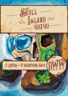 Skull Island Battlemap (Hand-drawn)