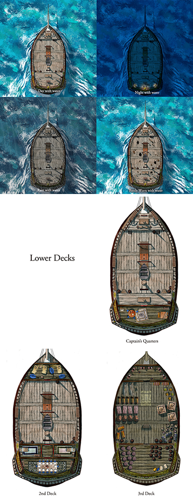 Big Booty Boat Variations