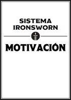 Motivaciones, set de cartas (para el Sistema Ironsworn)