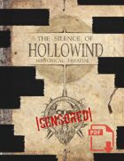 The Silence of Hollowind: Censored Edition