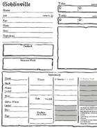 Goblinville Sheets