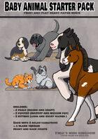 Baby animal starter pack