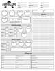 Arkelon Chronicles - Character Sheets