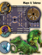 Treachery at the House of Knowledge Token and Map Pack