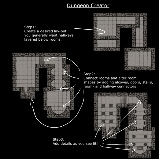 Dungeon Creator Instructions