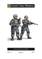 Lianra motorized infantry - Reissue