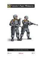 Lianra motorized infantry - Reissue