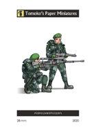 Alana paratroopers
