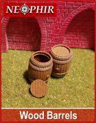Wood Barrels