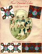 1791-1813 Hesse-Darmstadt Regiment Landgraf Flags