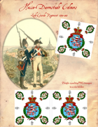 1790-1813 Hesse-Darmstadt Leib-Garde Regiment Flags