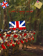 French & Indian War 48th Regiment paper soldiers