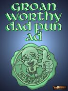 Groan worthy Dad pun ad
