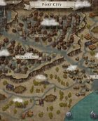 """Port City"" Mountain City Map"