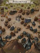 """""""Peelskivae"""" High Plateau Village Map"""