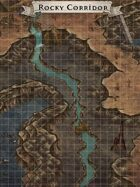 """Rocky Corridor"" Cave Map"