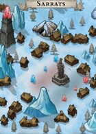 """Sarrats"" Winter Magic Village Map"