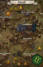 """Ansli\"" Mining Forest Duchy Town Map"