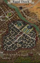 """Ragal Thock"" Coastal Harbor City Map"