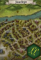 """Jaackyu"" River Town Map"