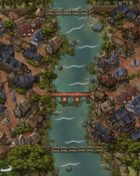 """Riyyas"" Jungle River Town Map"