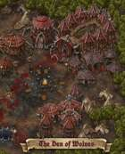"""""""The Den of Wolves"""" Orc Town Map"""