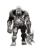 NerdGore Stock Art: Zombie Ogre