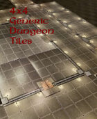 4x4 Generic Dungeon Tiles