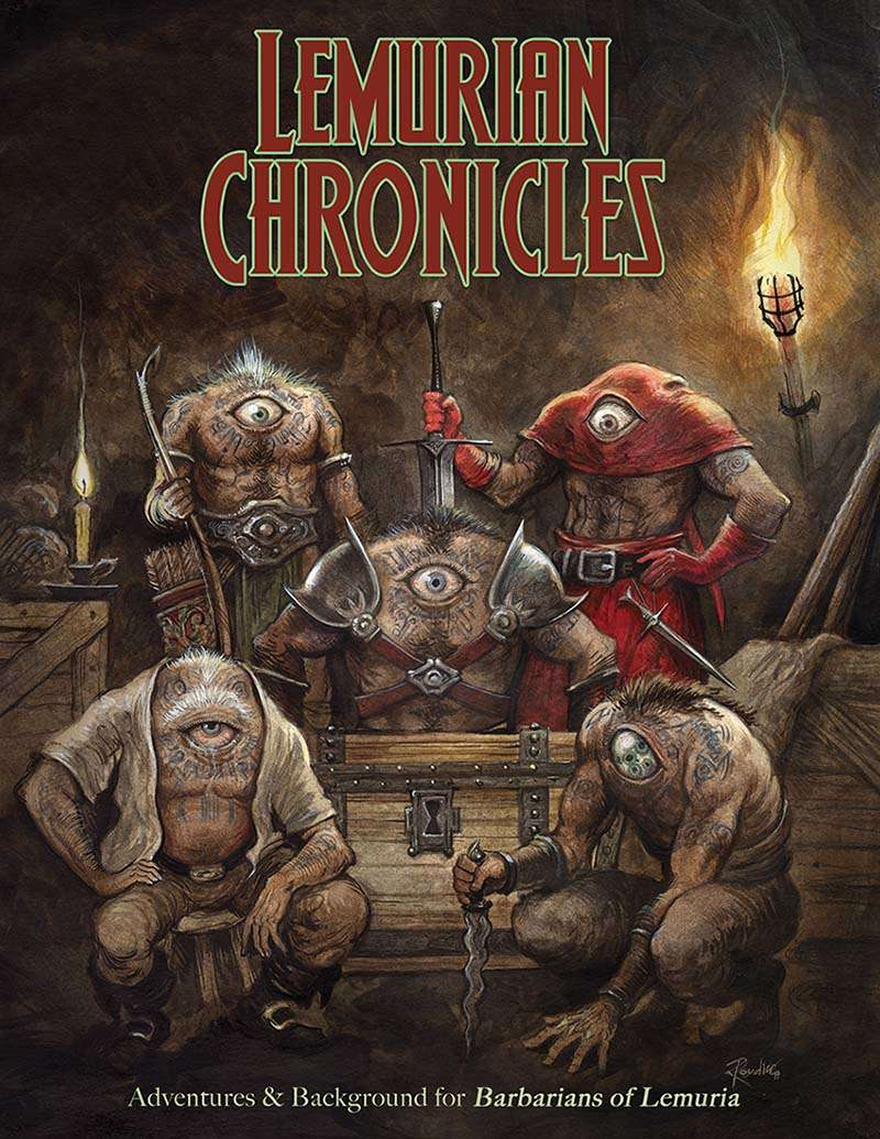 Lemurian Chronicles (Barbarians of Lemuria, Mythic edition