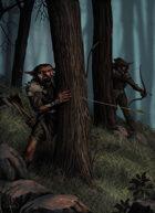 Full Page, Goblin Ambush Stock Art