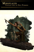 Ranger with Wolf Stock Art