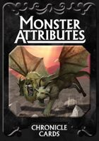 Universal Monster Attributes Deck