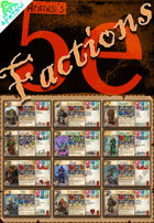 Afatasi's 5e Factions (Tarot-sized)