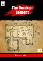 The Drunken Serpent (Tavern Map)