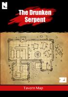 The Drunken Serpent (Tavern Map)
