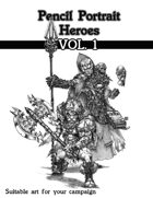 Pencil Hero Portraits vol.1