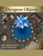 Map Pack 02: Dungeon Objects