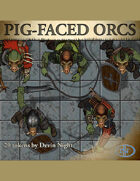 Devin Token Pack 30 - Pig-Faced Orcs