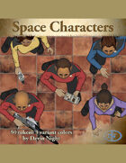 Devin Token Pack 44 - Space Characters