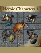Devin Token Pack 45 - Heroic Characters 1