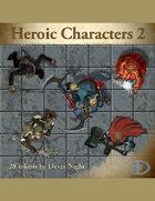 Devin Token Pack 46 - Heroic Characters 2