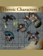 Devin Token Pack 47 - Heroic Characters 3