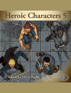 Devin Token Pack 49 - Heroic Charcters 5