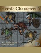 Devin Token Pack 58 - Heroic Characters 6
