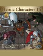 Devin Token Pack 83 - Heroic Characters 14
