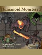 Devin Token Pack 95 - Humnaoid Monsters 2