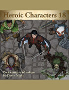 Devin Token Pack 101 - Heroic Characters 18