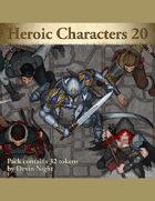 Devin Token Pack 105 - Heroic Characters 20